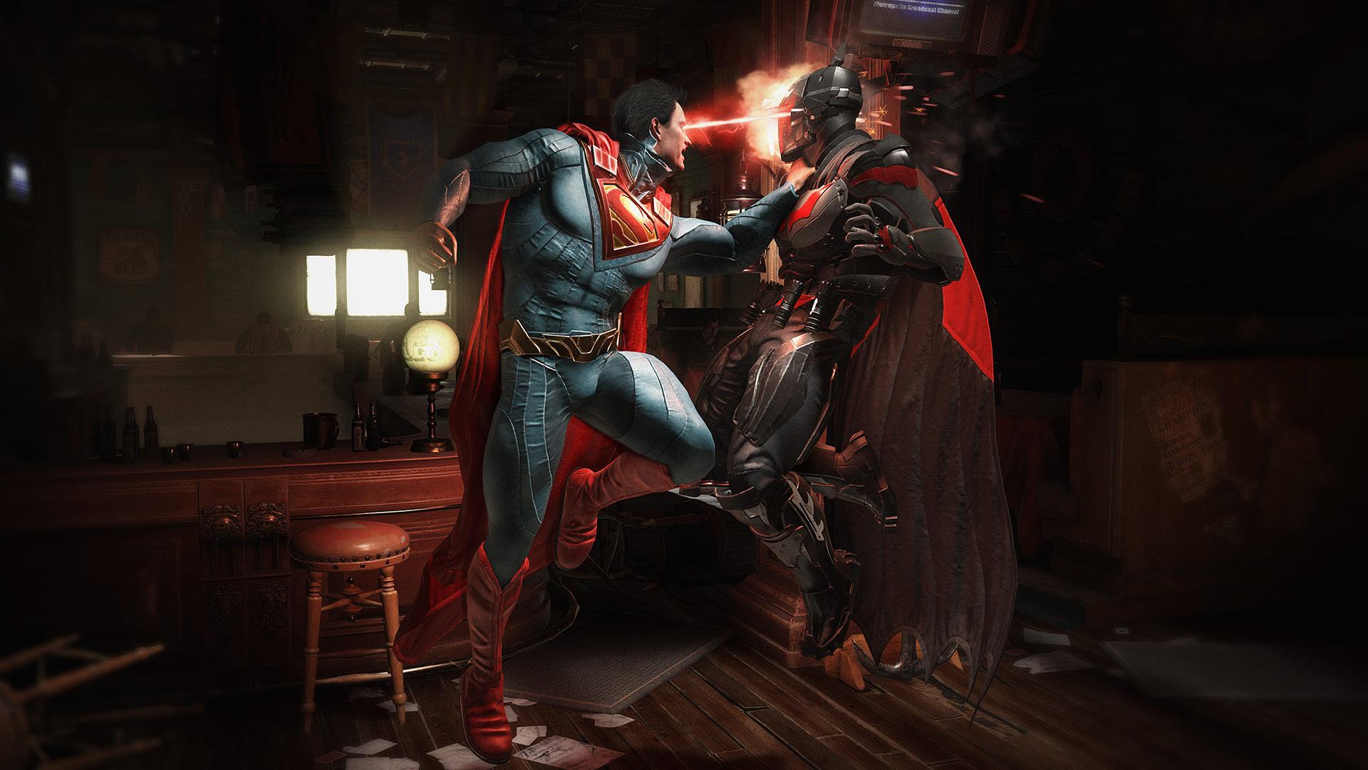 Injustice 2 offre une vaste sélection de personnages de l'univers DC