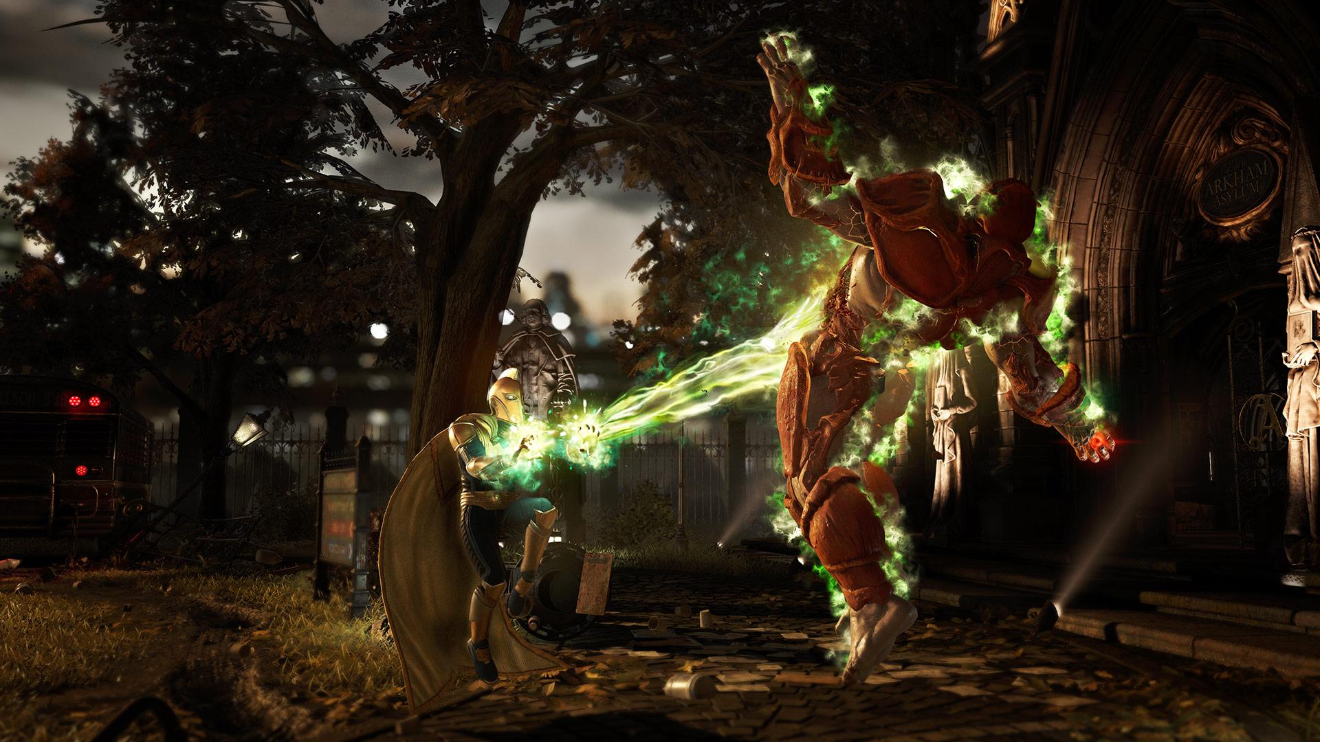 Les combats d'Injustice 2 se déroulent dans de nombreux environnements, tous plus beaux les uns que les autres