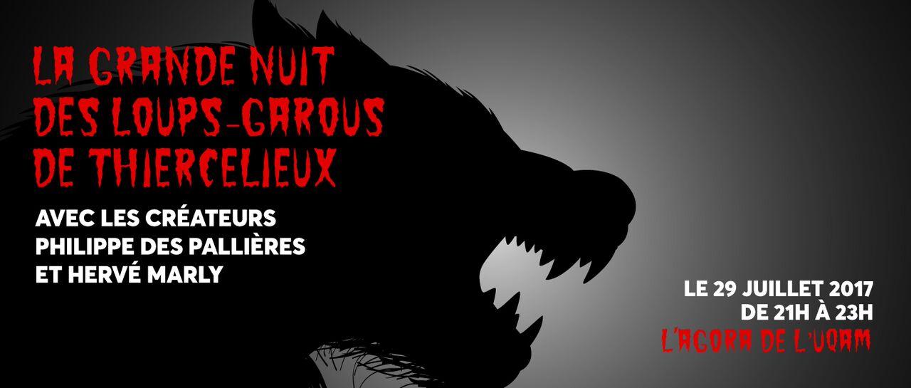 Les créateurs du populaire jeu de société Loups-Garous seront sur place au Mondial des jeux Loto-Québec 2017