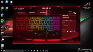 Asus ROG Strix - Aura Clavier couleur