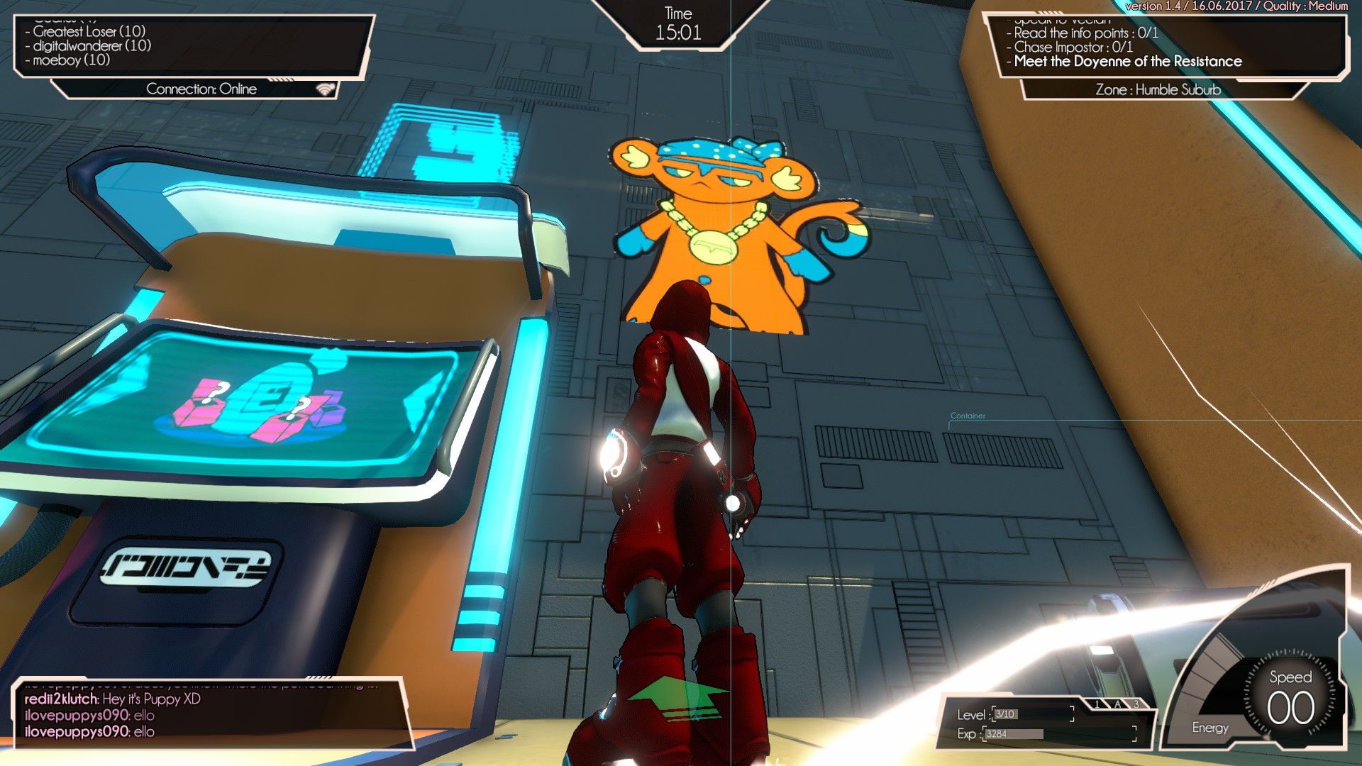 Hover : Revolt of Gamers - Successeur spirituel à Jet Set Radio?