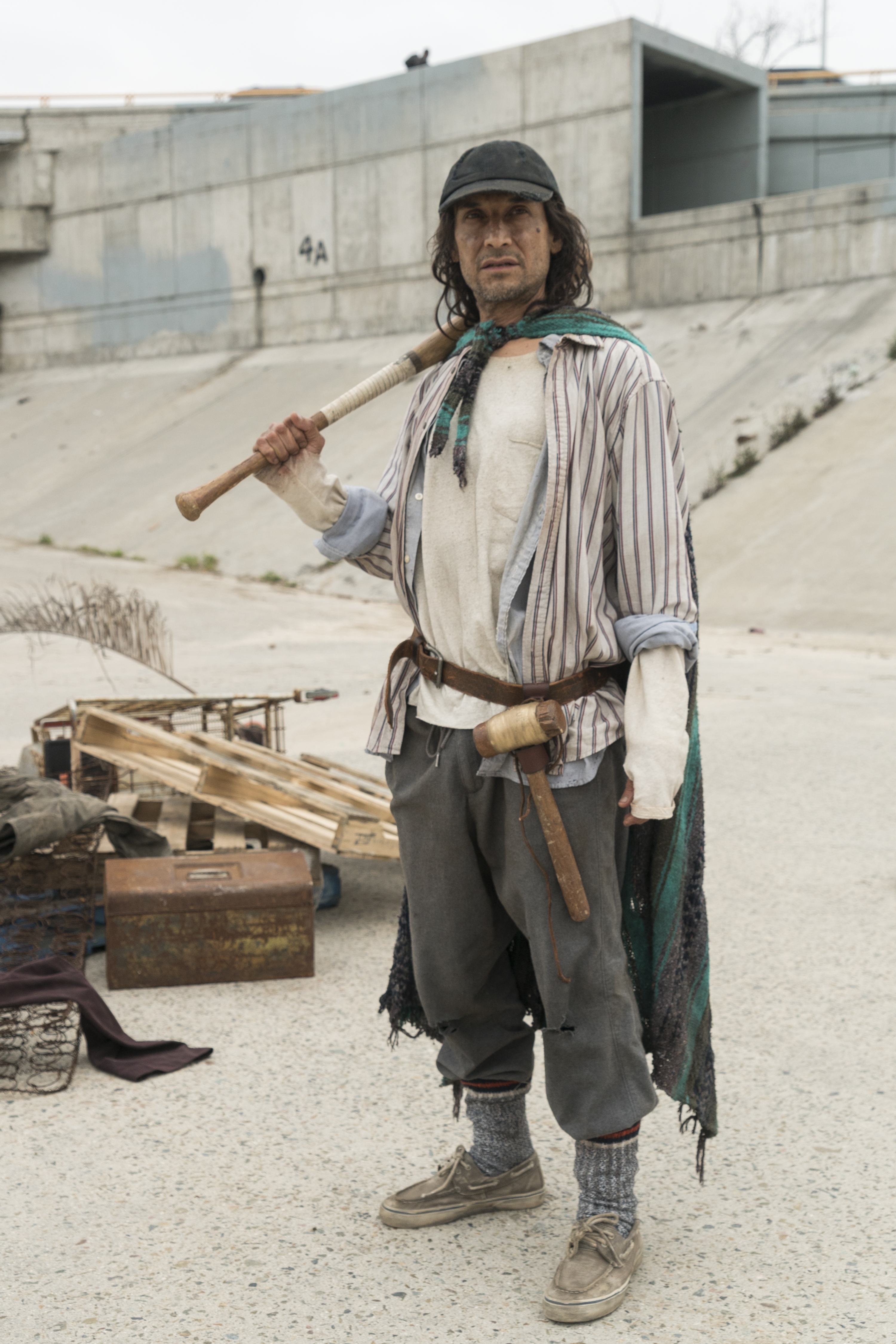 Efrain Morales (Jesse Borrego) - Fear the Walking Dead Saison 3 Épisode 4 - Photo: Richard Foreman, Jr/AMC