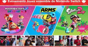 Nintendo du Canada vous invite à jouer ensemble à la Nintendo Switch avec eux!
