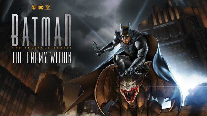The Enemy Within plongera plus profondément dans la vie trouble de Batman/Bruce Wayne