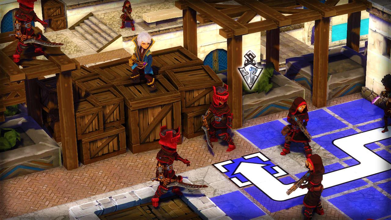Le système de déplacement dans Children of Zodiarcs est très similaire à celui de la franchise Fire Emblem
