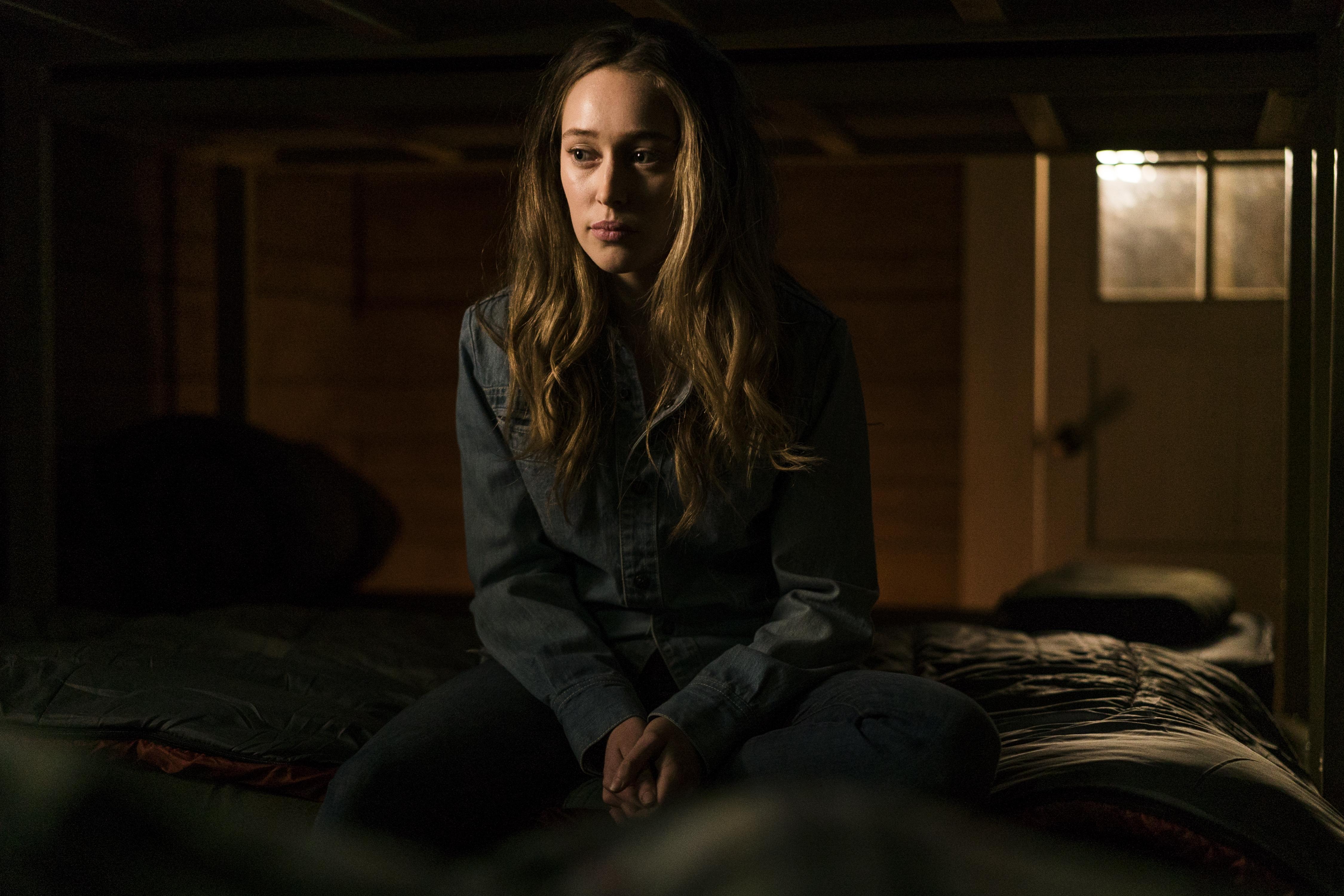 Alicia Clark (Alycia Debnam-Carey) Walking Dead _ Saison 3, Episode 6 - Photo Credit: Richard Foreman, Jr/AMC
