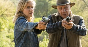 Madison Clark (Kim Dickens) Jeremiah Otto (Dayton Callie)- Fear the Walking Dead _ Saison 3, Episode 6 - Photo Credit: Richard Foreman, Jr/AMC