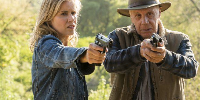 Madison Clark (Kim Dickens) Jeremiah Otto (Dayton Callie)- Fear the Walking Dead _ Saison 3, Episode 6 - Photo Credit: Richard Foreman, Jr/AMC