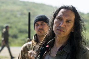 Qaletaqa Walker (Michael Greyeyes)- Fear the Walking Dead Saison 3, Episode 7 - Photo Credit: Richard Foreman, Jr/AMC