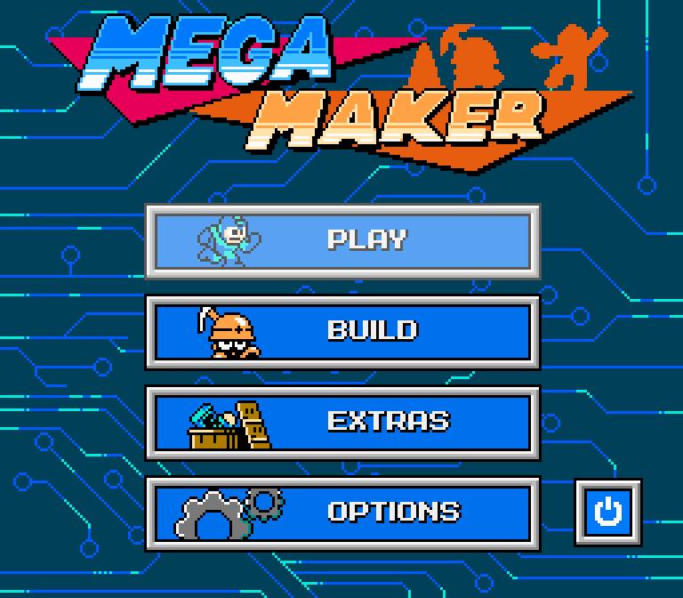 mega maker menu
