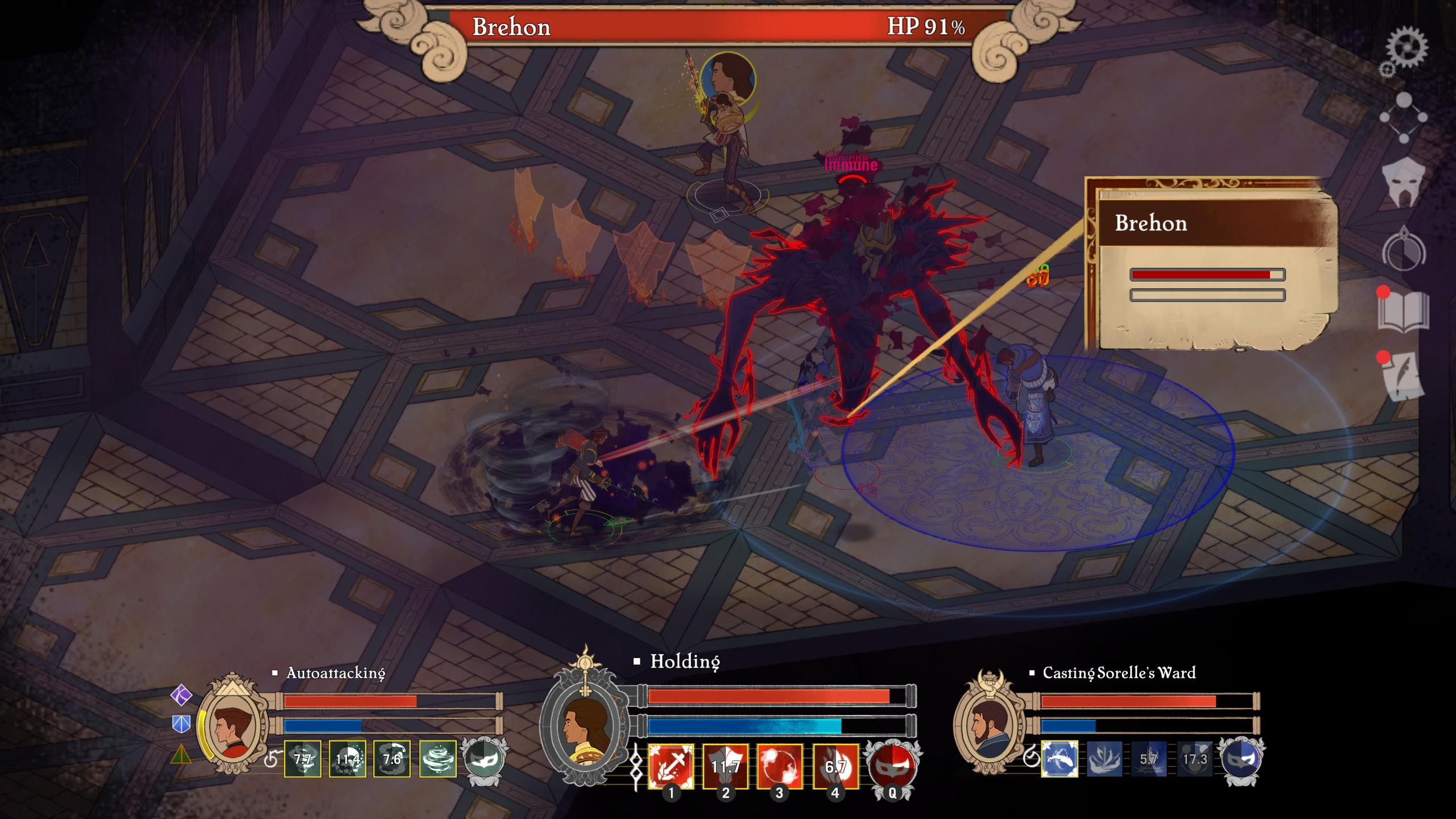 Masquerada: Songs and Shadows - Un RPG tactique débordant de charme