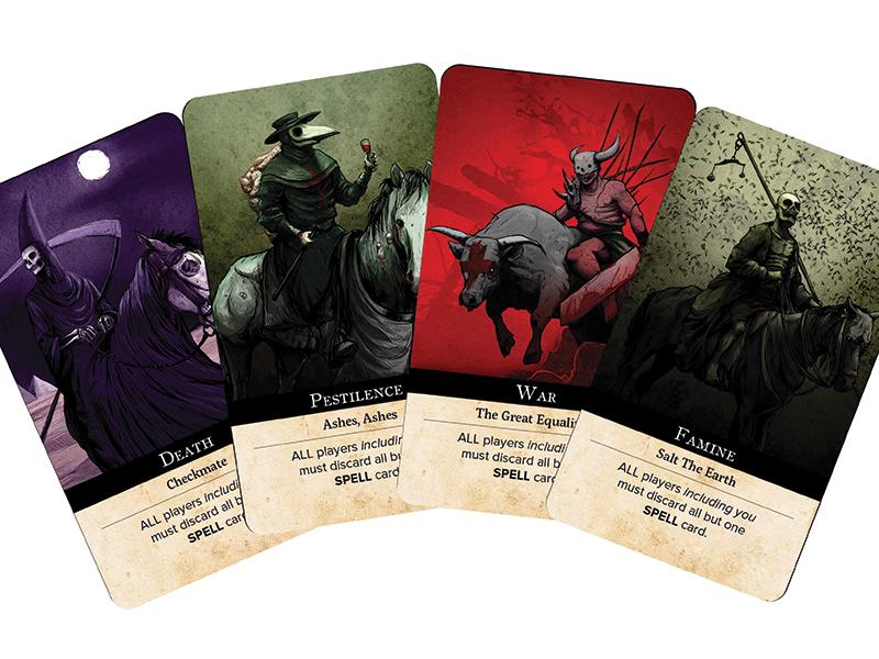 Les quatre cavaliers de l'Apocalypse sont les cartes les plus puissantes du jeu
