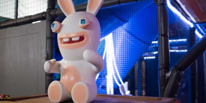 Geekbecois était au lancement de Mario + Rabbids Kingdom Battle