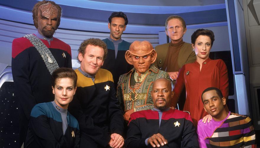 Star Trek Deep Space Nine a été la première de trois séries à suivre Star Trek : The Next Generation.