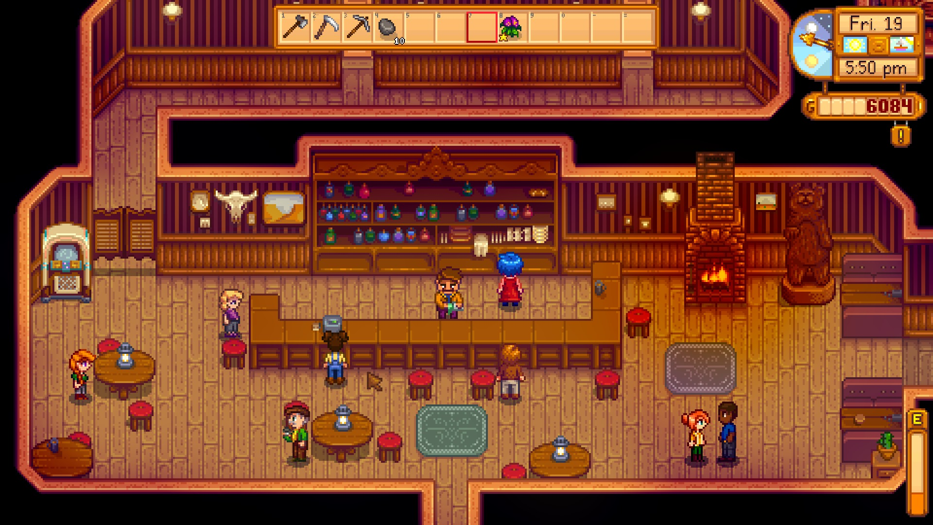 Stardrop Saloon | Stardew Valley