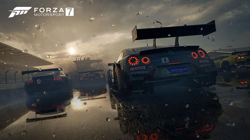 Microsoft sortira Forza Motorsport 7 en magasin et en ligne le 3 octobre prochain (ou le 29 septembre pour les propriétaires de l'édition ultime)
