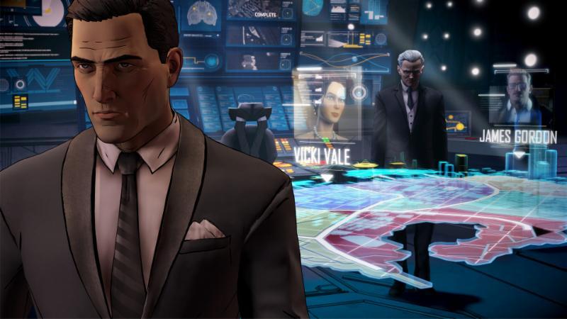 Bruce Wayne qui fouille son passé dans Batman - The Telltale Series