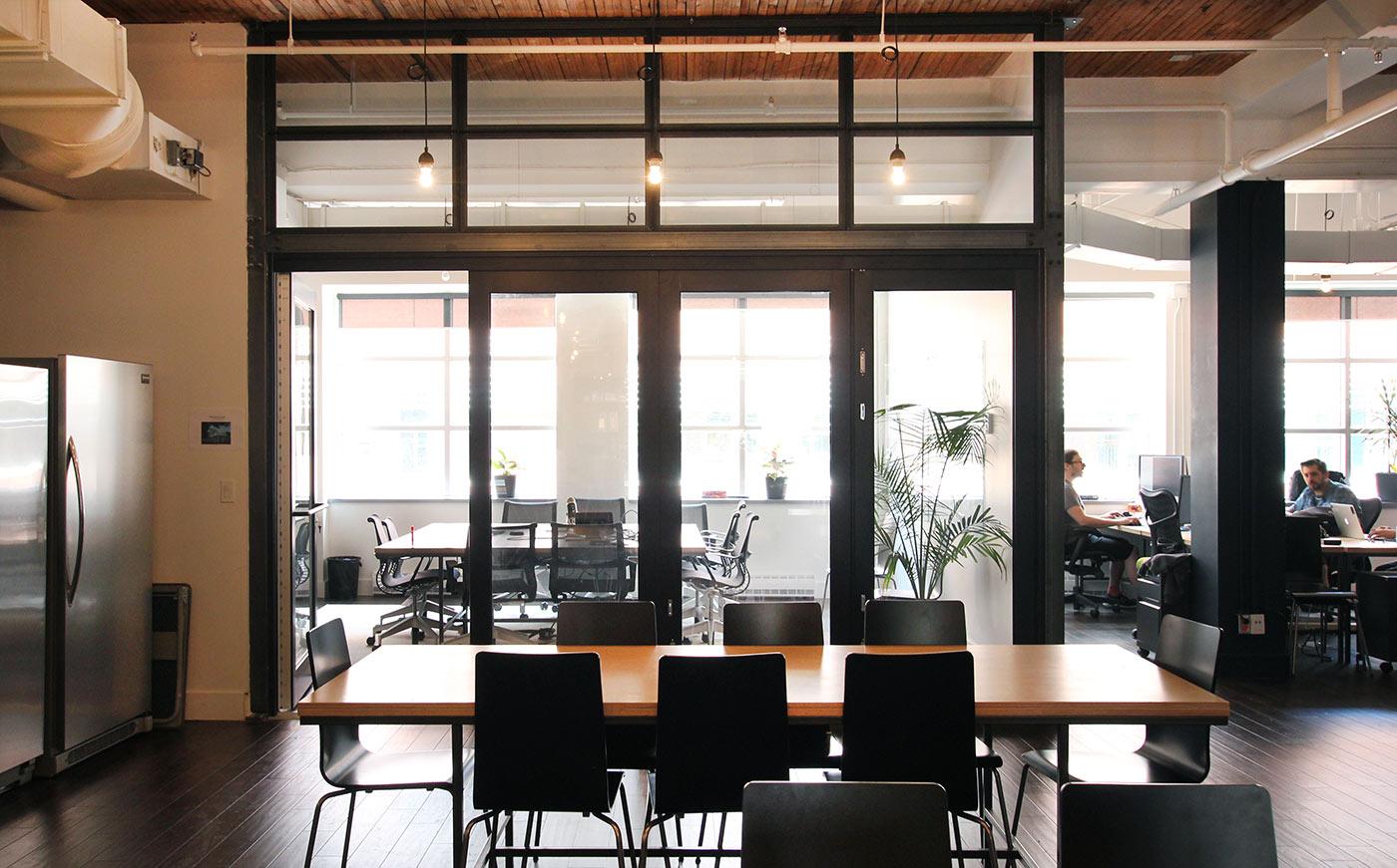 Un (second) aperçu des (grands) bureaux d'Unity 3D Montréal. Photo: Unity 3D Montréal