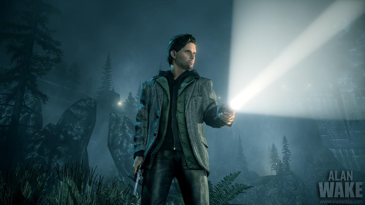 La lumière est définitivement votre meilleure amie dans Alan Wake, un de nos jeux vidéo pour l'Halloween.