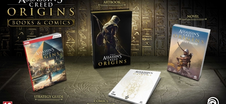 Desert Oath est le premier livre basé sur le jeu Assassin's Creed Origins et lui sert de prologue