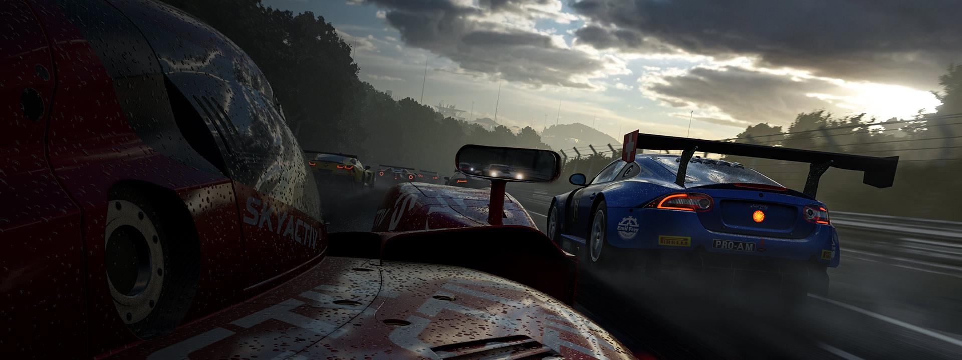 La météo peut changer rapidement dans Forza Motorsport 7, ce qui changera la méthode requise pour conduire