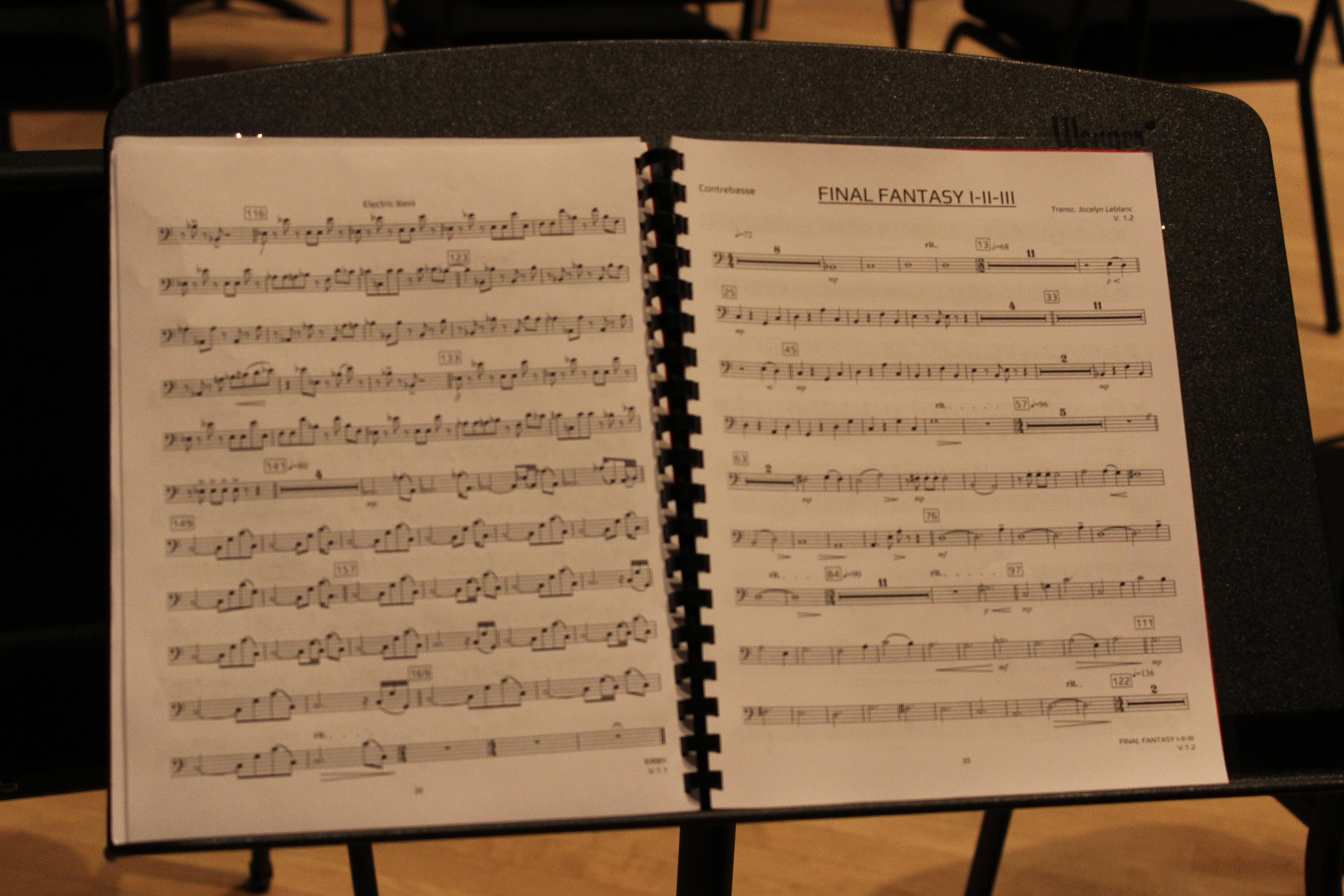 Le directeur musical a su transposer des thèmes composés pour une puce sonore primitive à un orchestre à vent avec succès