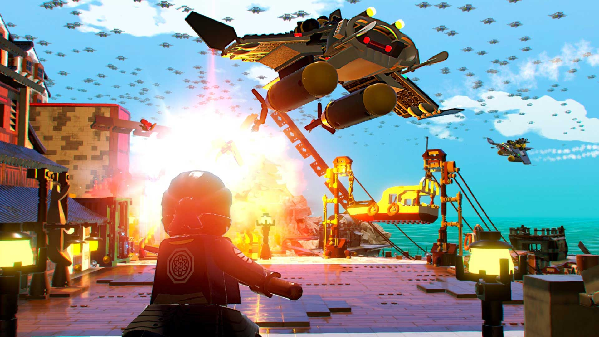 Vous aurez à mettre votre connaissance des arts martiaux à rude épreuve dans LEGO Ninjago, le film : le jeu vidéo