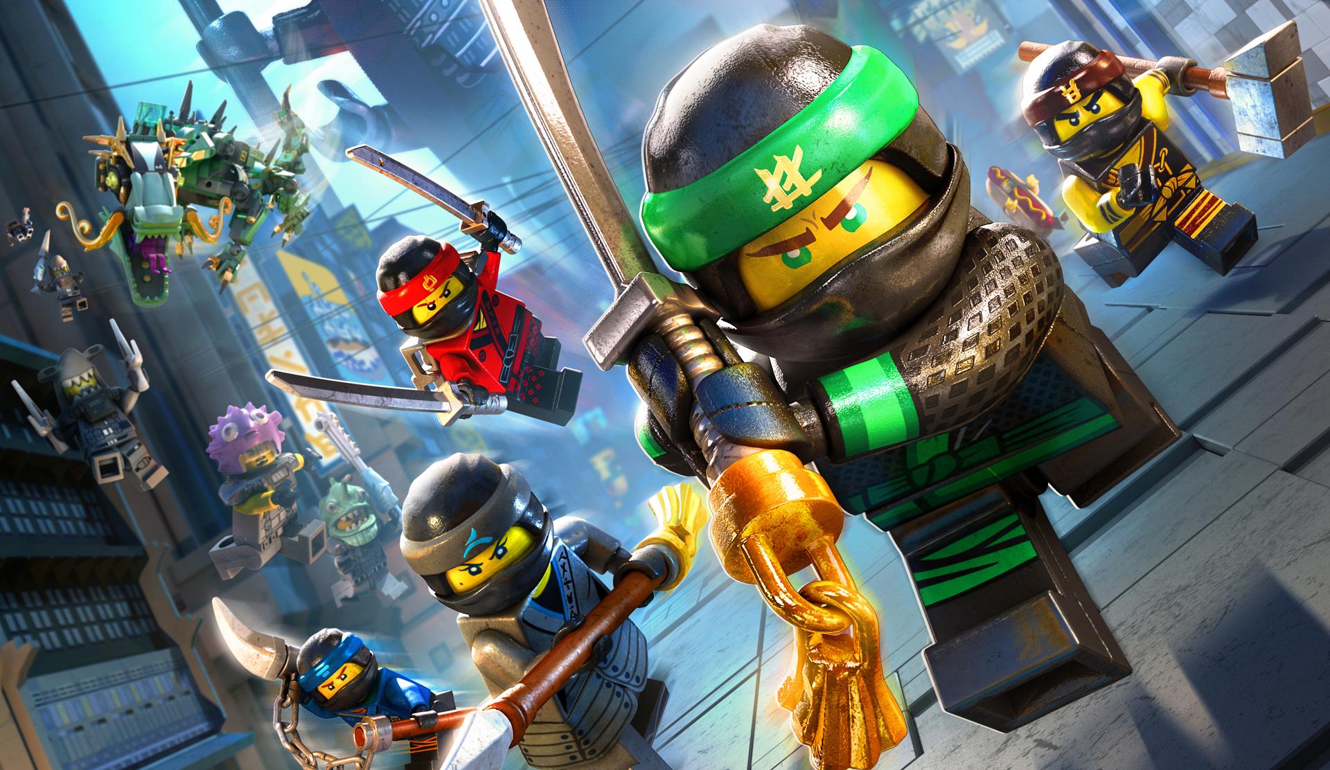 Chacun des membres des Ninjago a ses habiletés et armes particulières dans LEGO Ninjago, le film : le jeu vidéo