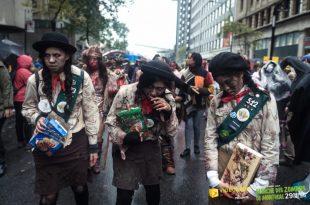 Marche des Zombies de Montréal 2017 | Crédit photo Vivien Gaumand
