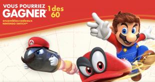 Gagnez une Nintendo Switch et Super Mario Odyssey grâce à vos céréales du matin!