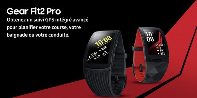 Les nouveaux objets connectés de Samsung pour l'activité physique sont en vente