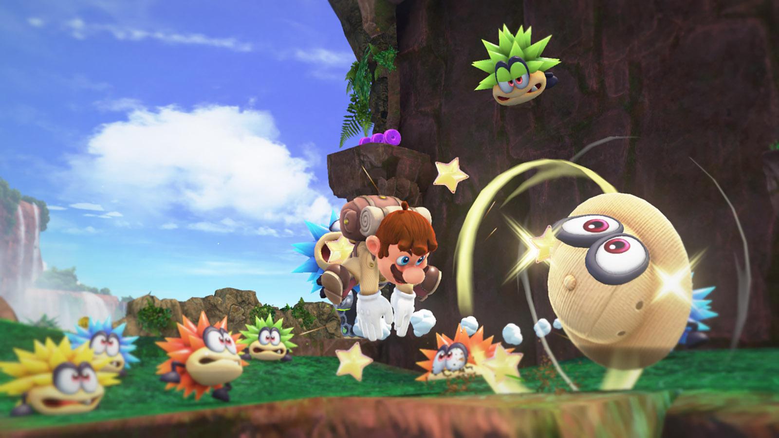Super Mario Odyssey | Cascade Kingdom