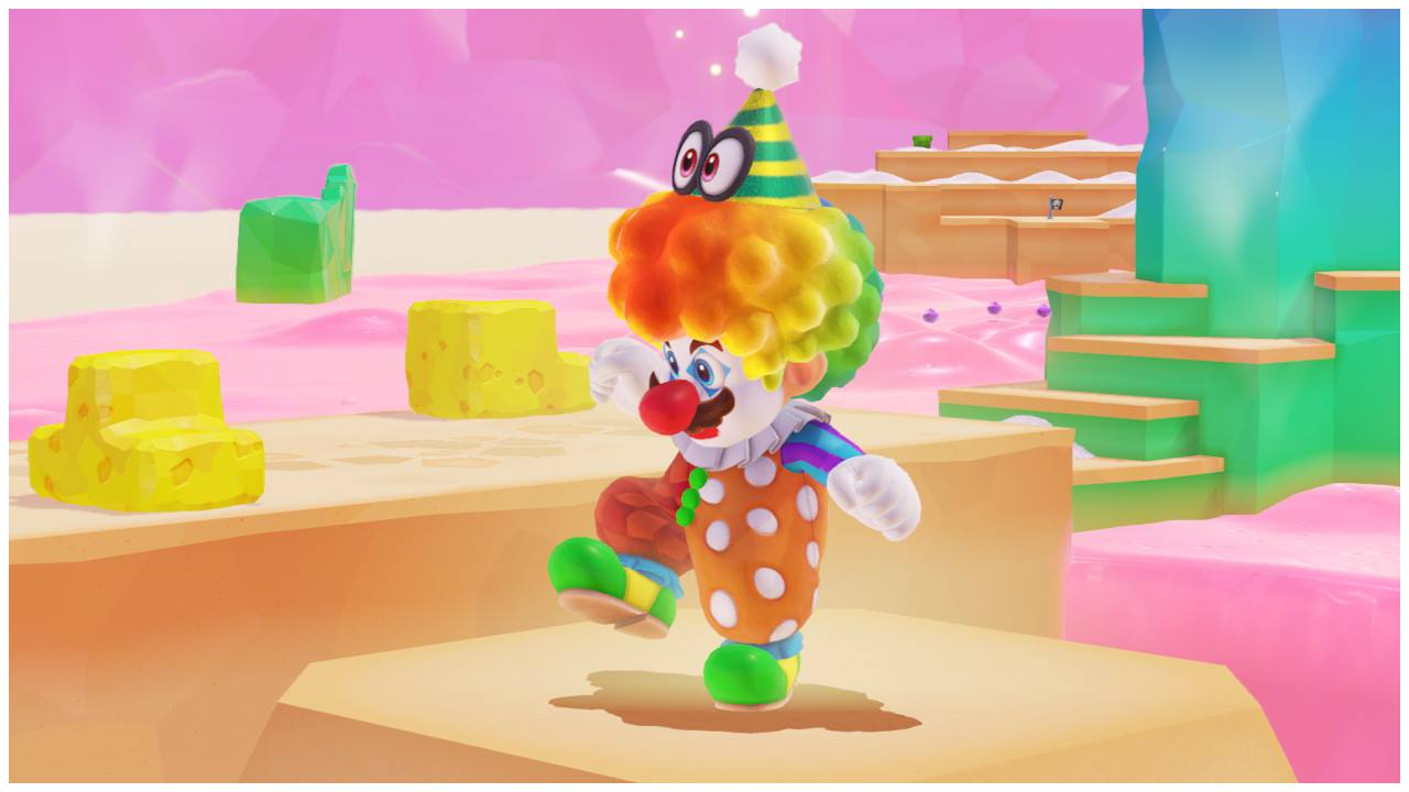 Super Mario Odyssey | Luncheon Kingdom - Costume de clown