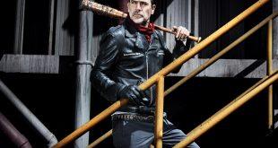 Negan (Jeffrey Dean Morgan)- The Walking Dead Saison 8 Épisode 1 - Photo: Alan Clarke/AMC