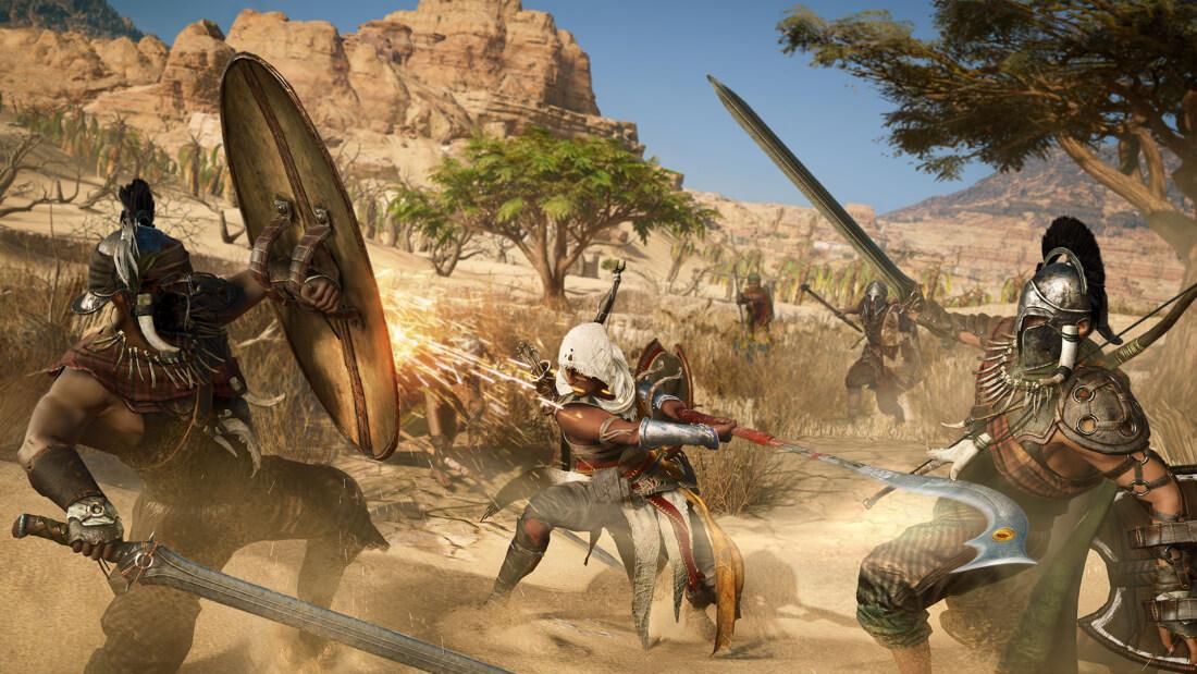 Des combats plus féroces vous attendent dans Assassin's Creed Origins