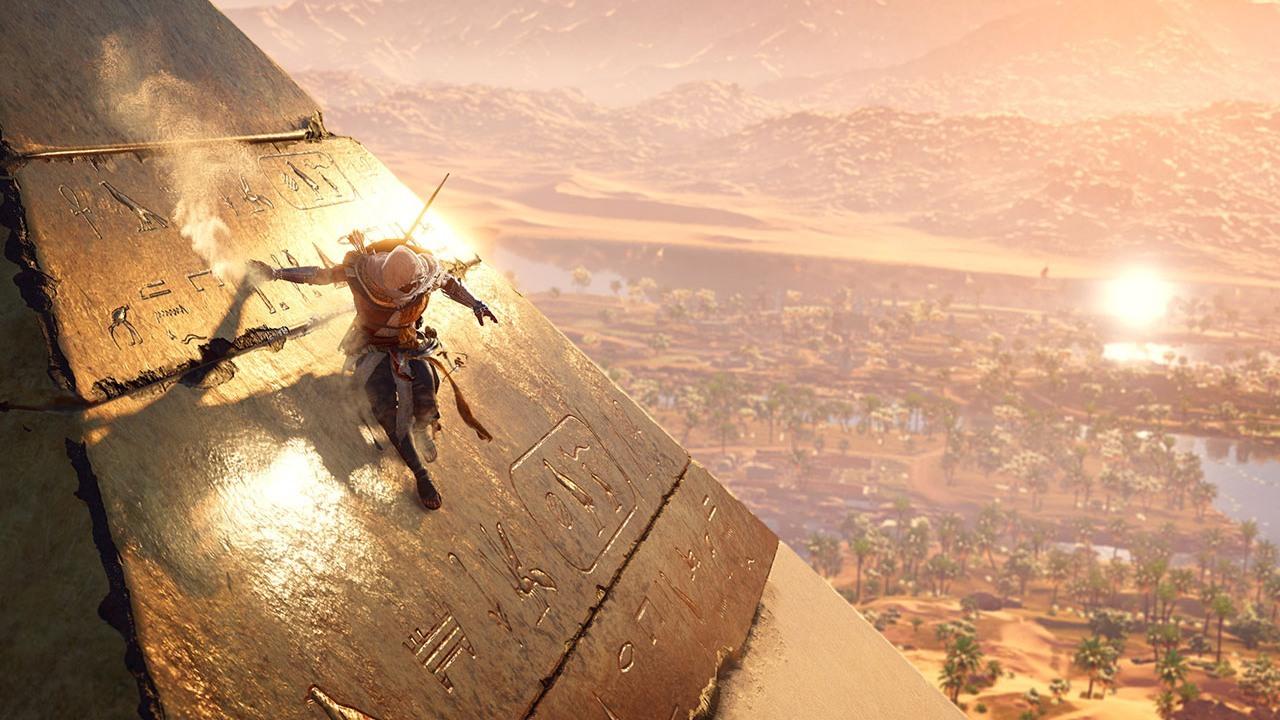 Admirez le paysage en glissant le long de la Grande Pyramide!