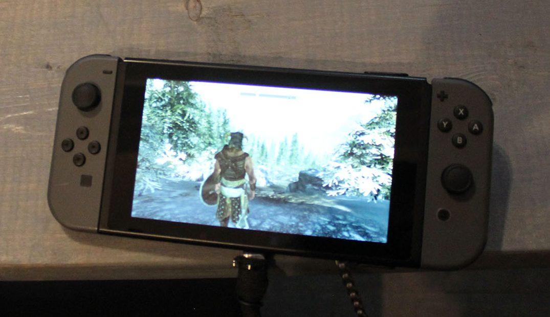 Il ne fait aucun doute que cette image est tirée de Skyrim sur la Nintendo Switch!