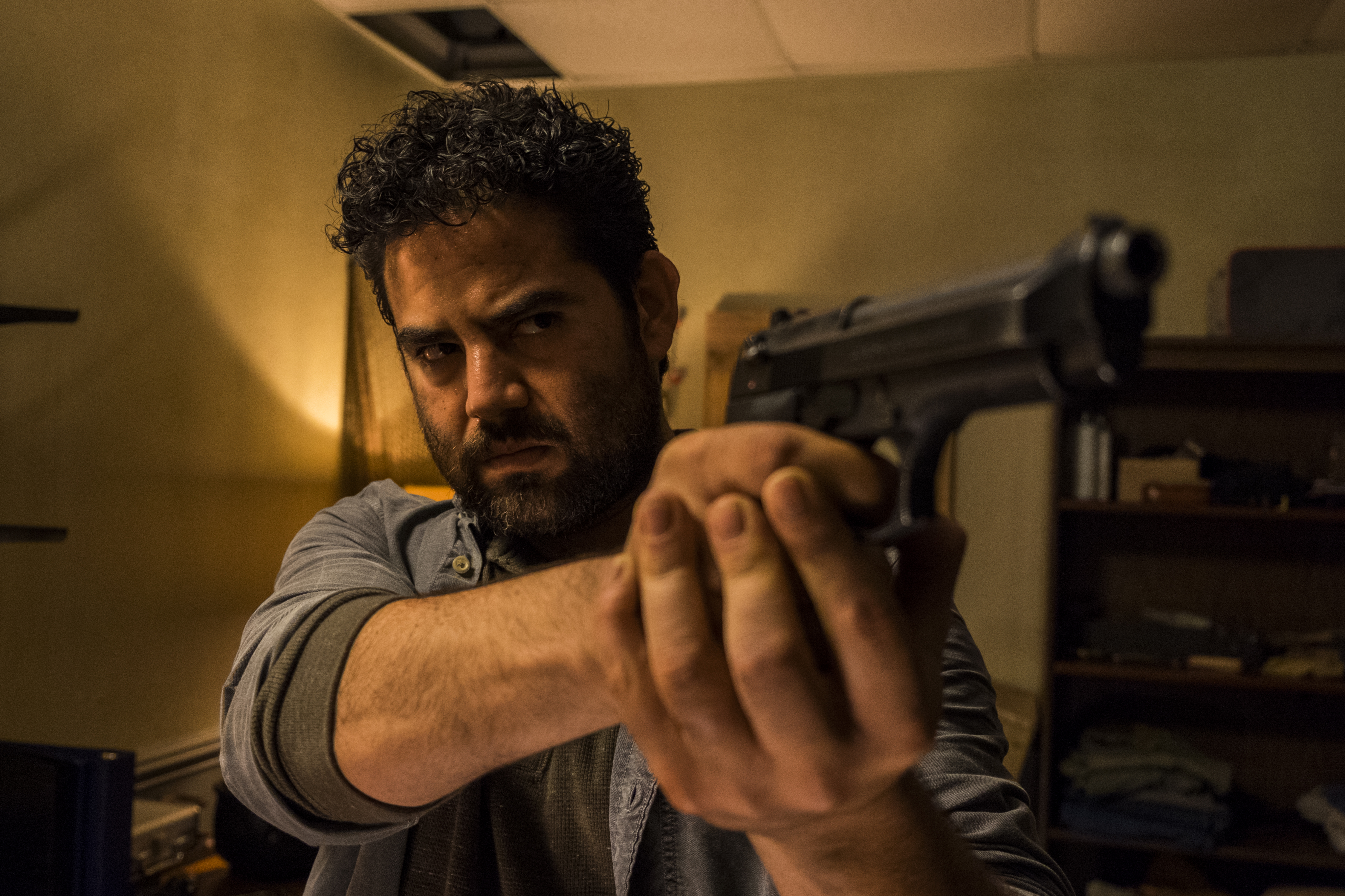 Morales (Juan Gabriel Pareja) - The Walking Dead Saison 8 Épisode 3 - Photo: Gene Page/AMC