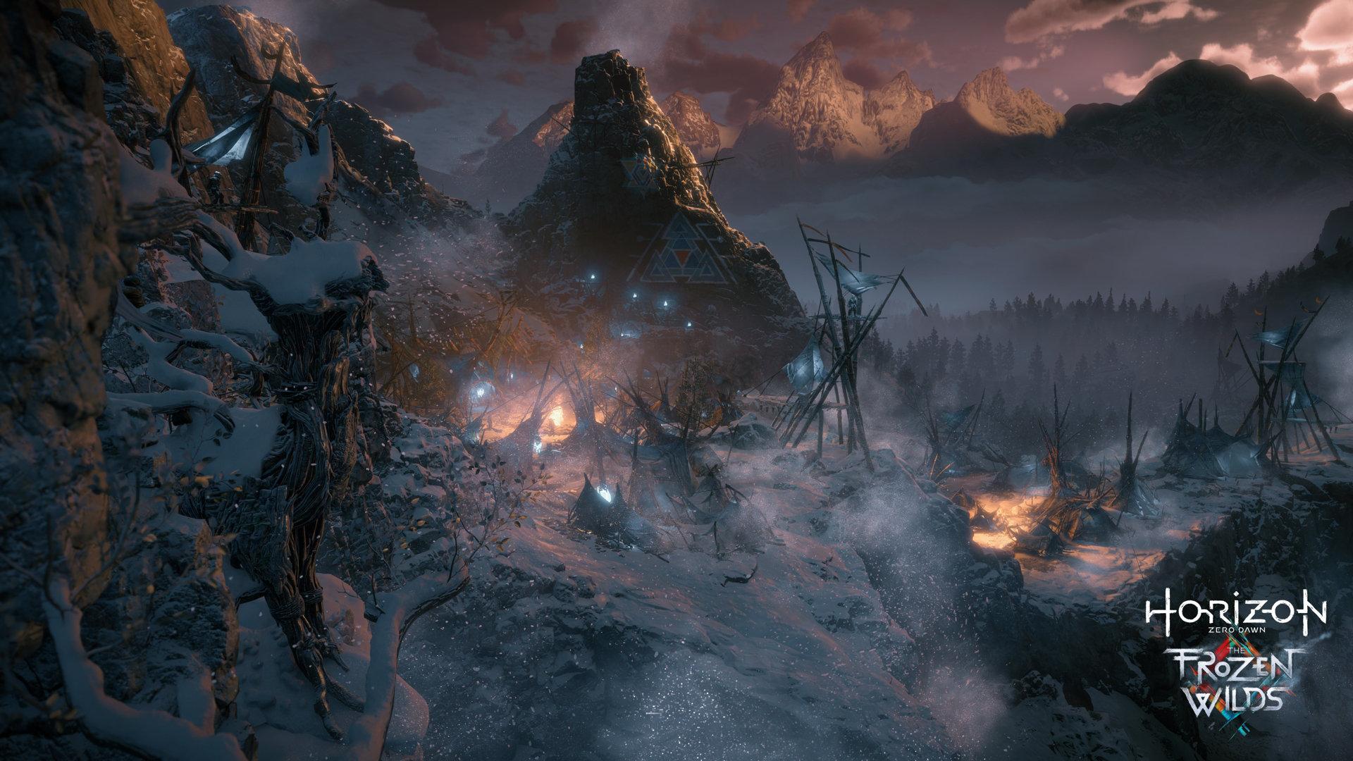 La toundra et les monts enneigés du nord sont les environnements de l'extensionThe Frozen Wilds
