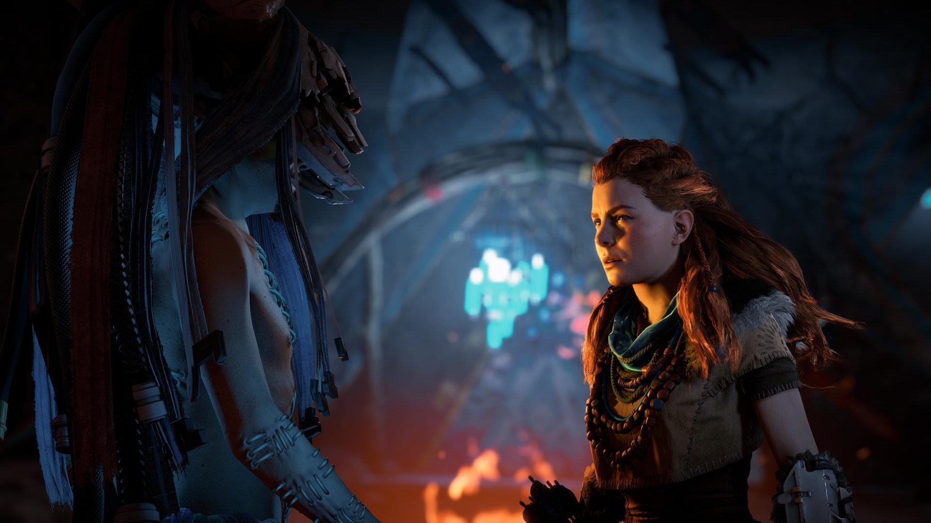 Retrouvez l'héroïne Aloy dans de nouvelles aventures dans The Frozen Wilds