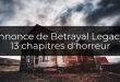 Betrayal at House on the Hill : la version Legacy annoncée
