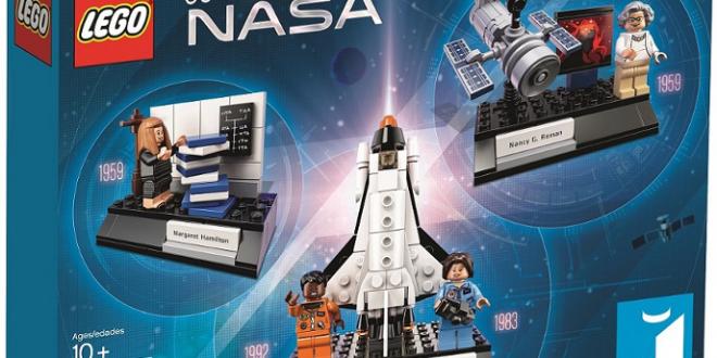 Oui madame! LEGO rend hommage aux femmes de la NASA