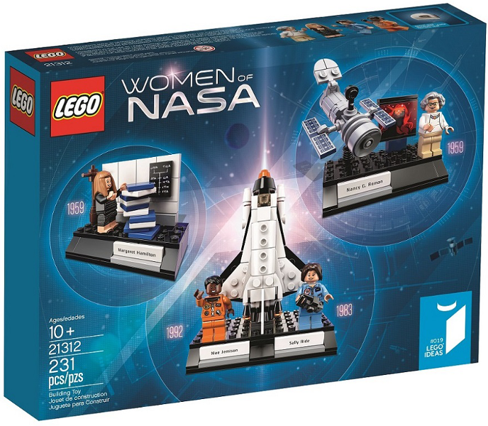 Boite LEGO Women of NASA