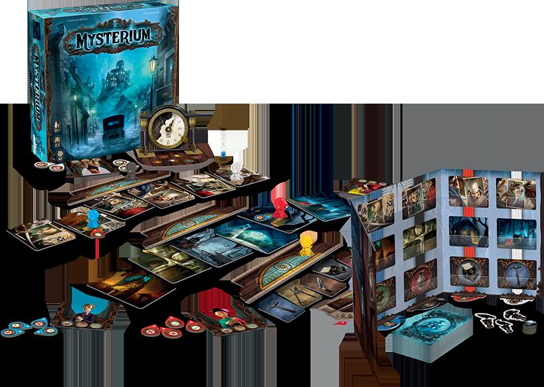 Mysterium : contenu de la boîte