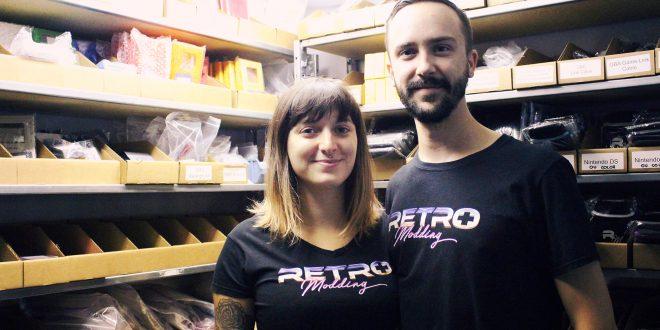 Retro Modding: des gens d'ici derrière des consoles rétro personnalisées