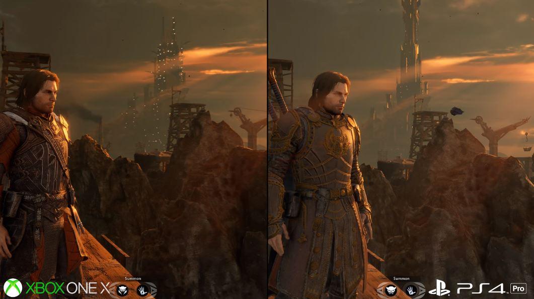 Shadow of War est à son meilleur sur la console Xbox One X!