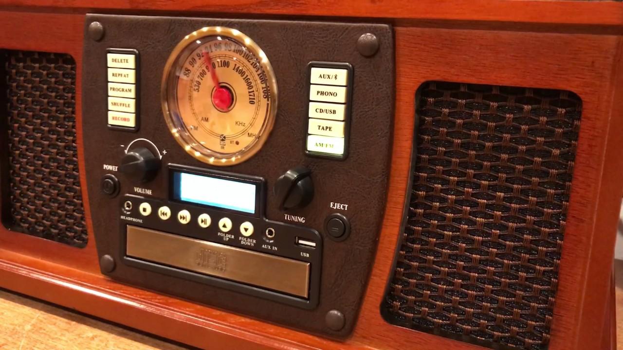 Retrouver la joie de syntoniser un poste de radio à l'ancienne avec l'Aviator de Victrola