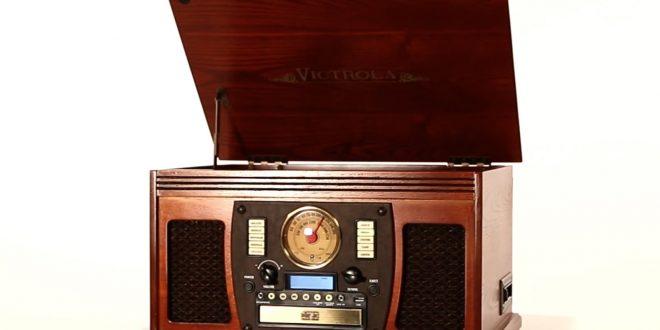 The Aviator 7 en 1 par Victrola – Un look d'antan, une technologie d'aujourd'hui