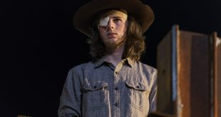 Carl Grimes (Chandler Riggs) - The Walking Dead Saison 8, Épisode 8 - Photo : Gene Page/AMC