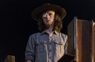 Carl Grimes (Chandler Riggs) - The Walking Dead Saison 8, Épisode 8 - Photo : Gene Page/AMC